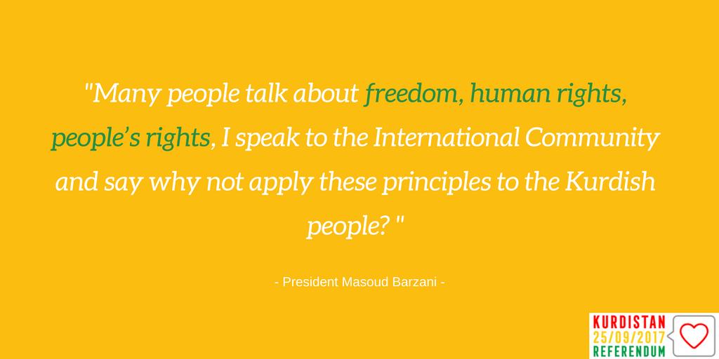 Zitate von Offiziellen der Region Kurdistan