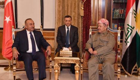 President Barzani Receives Turkey's Foreign Minister