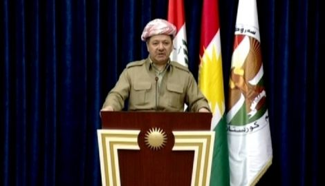 President Barzani Delivers His Remarks Following the Independence Referendum