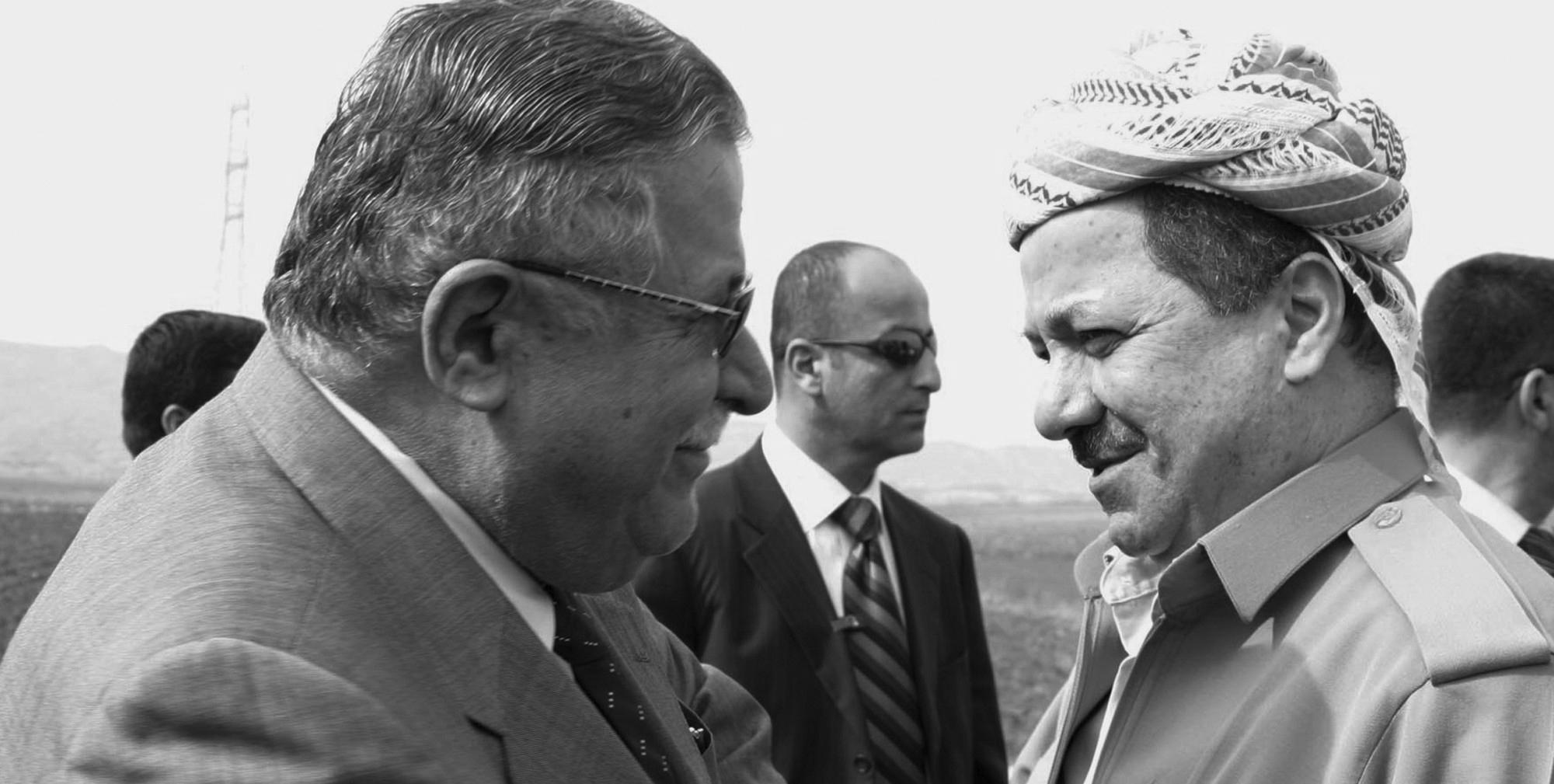 Präsident Barzanis Anteilnahme zum Ableben vom früheren Präsidenten Jalal Talabani