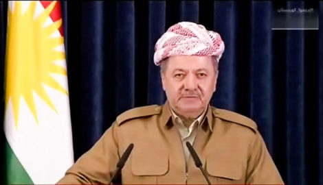 President Barzani addresses people of Kurdistan in his final speech as President