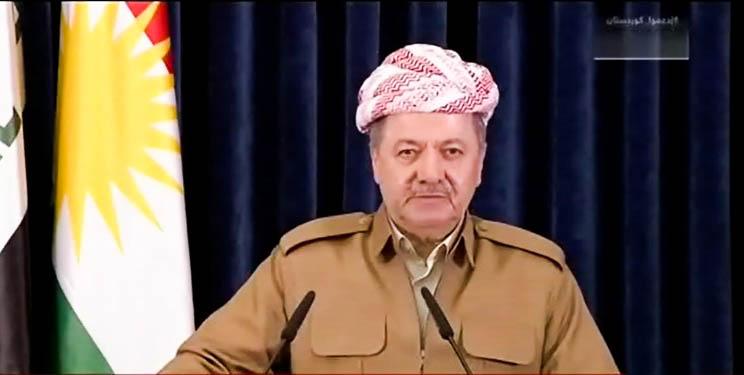 Präsident Barzani wendet sich an Bevölkerung Kurdistans in seiner letzten Rede als Präsident