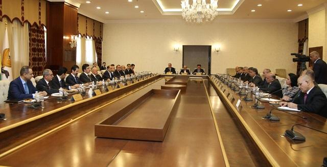 Region Kurdistan für Ergänzungen der Bundeshaushaltsrechnung 2018