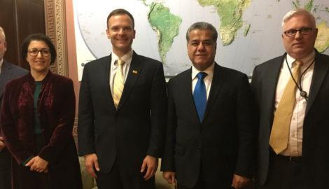 US Regierungsbeamte versichern der Region Kurdistan weiterhin Unterstützung