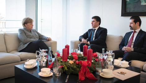 Kurdistan Region top officials meet with Germany's leaders in Berlin