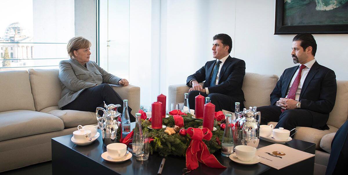Hochrangige Beamte der Region Kurdistan treffen deutsche Regierungsspitze in Berlin