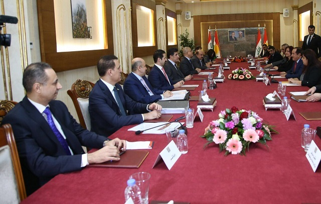 KRG and Kurdistan Parliament discuss financial situation in Kurdistan Region