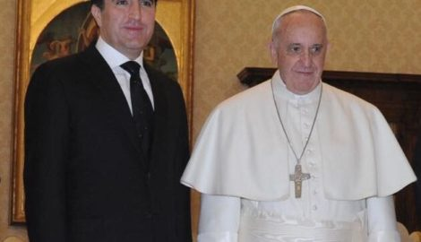His Holiness Pope Francis receives Prime Minister Barzani