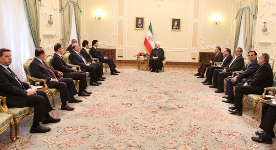 KRG leaders meets with top Iranian officials in Tehran