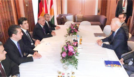 KRG delegation participates in Munich Security Conference