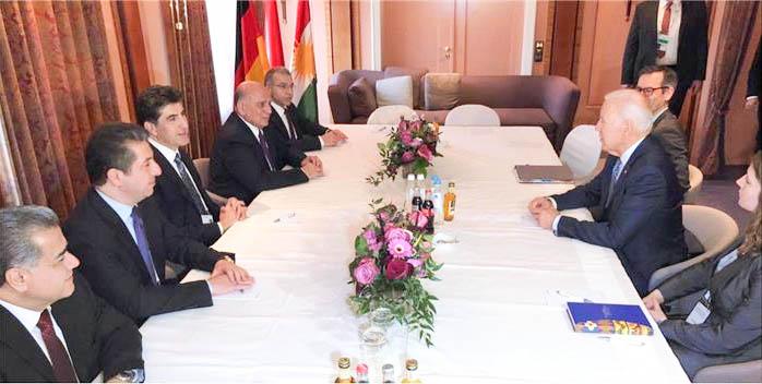 KRG Delegation nimmt an Münchner Sicherheitskonferenz teil