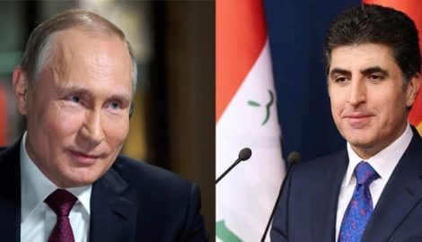 Prime Minister Barzani and President Putin discuss bilateral relations