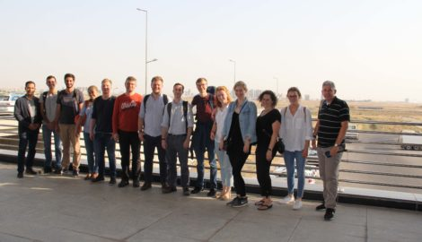 Junge AbsolventInnen der Diplomatischen Akademie reisen in die Region Kurdistan