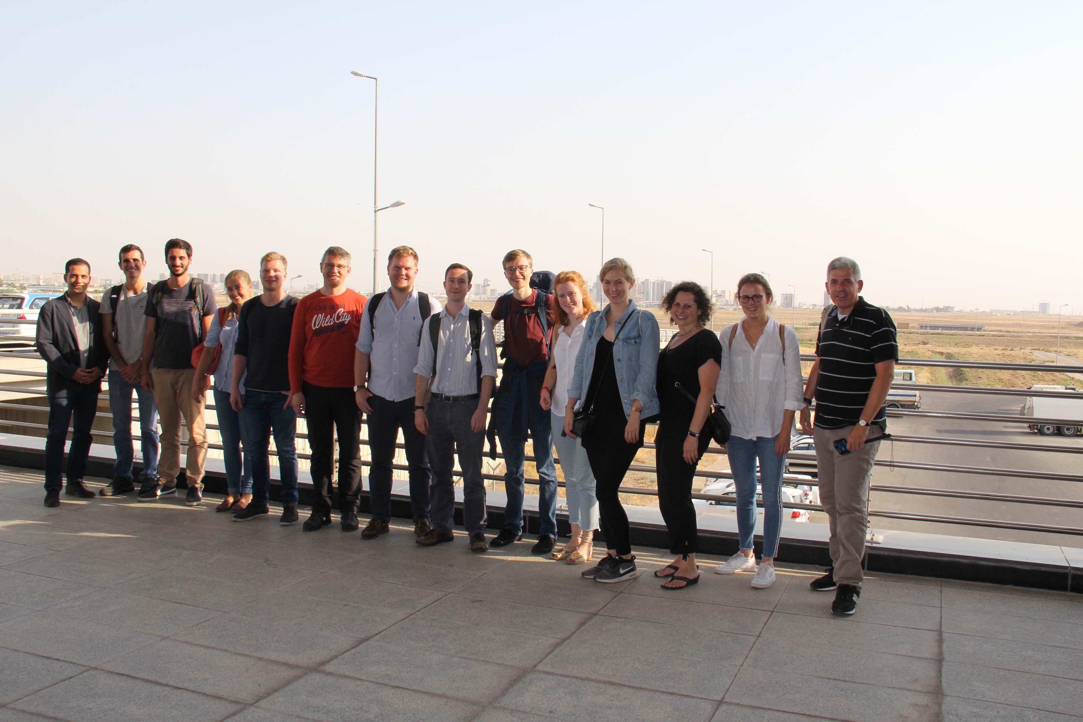 Diplomatic Academy Young Alumni Study Trip to the Kurdistan Region