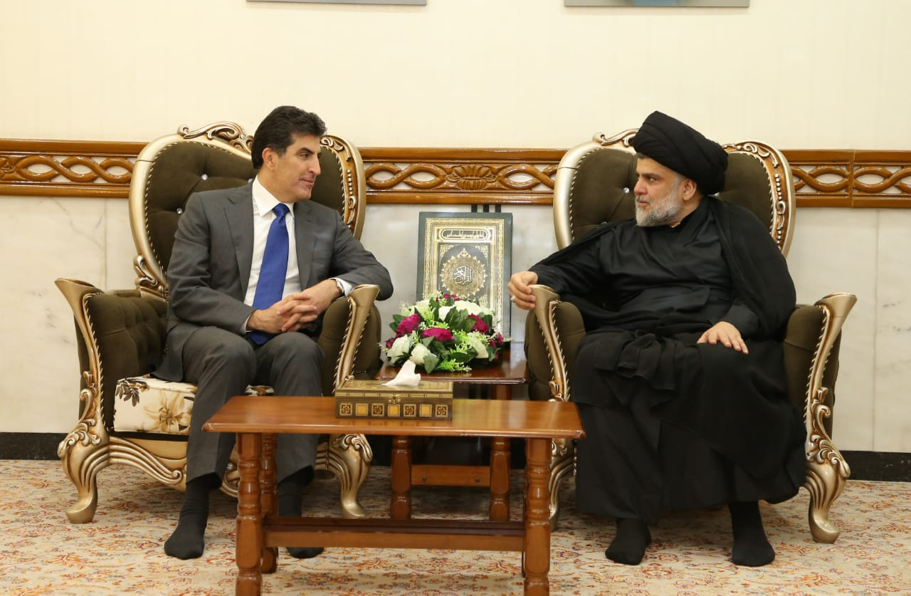 Prime Minister Barzani meets Iraqi political leaders