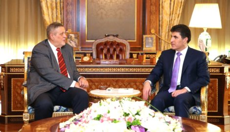 PM Barzani empfängt UN Delegation