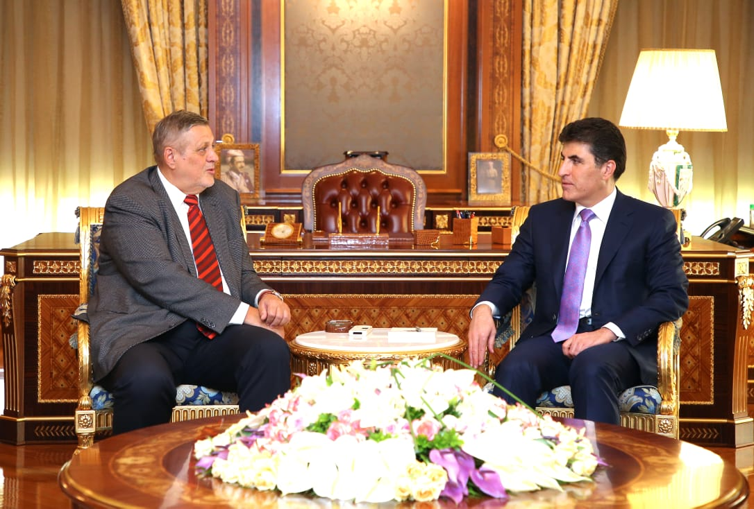 PM Barzani receives UN delegation