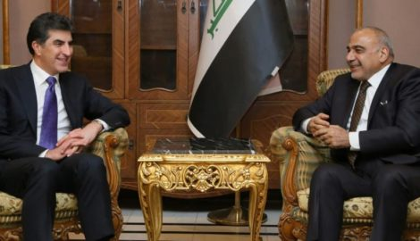 Premierminister Barzani trifft irakische Führer