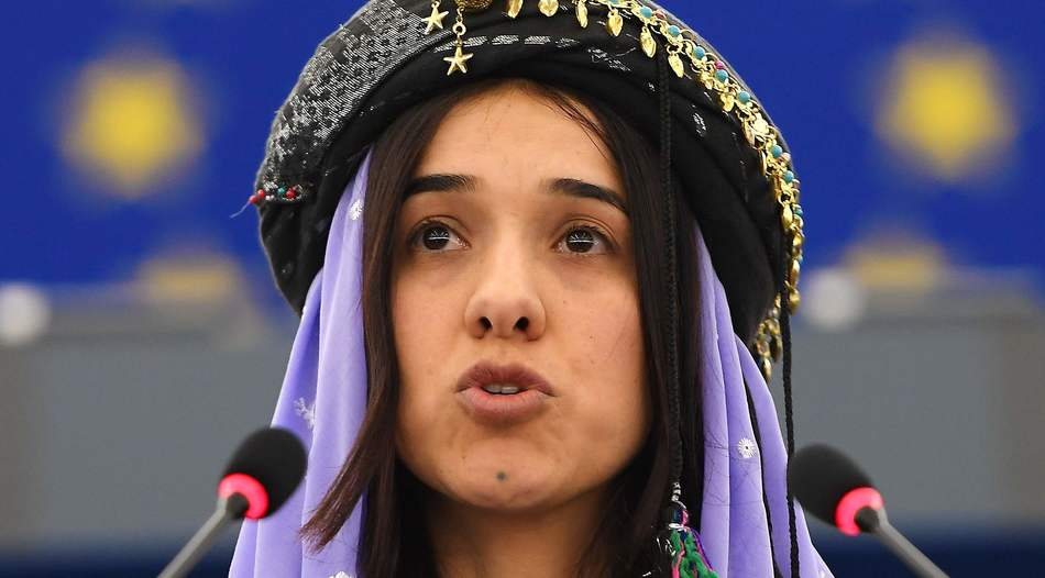 Premierminister Nechirvan Barzani gratuliert Nadia Murad