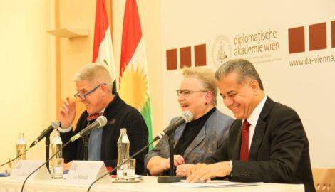 """Falah Mustafa und Gudrun Harrer über """"Kurdistan, den Irak und den Nahen Osten"""""""
