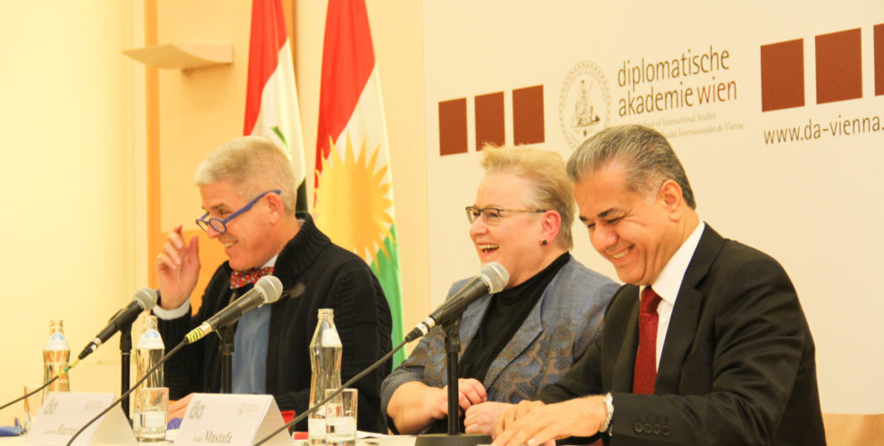 "Falah Mustafa and Gudrun Harrer on ""Kurdistan, Iraq and the Middle East"""