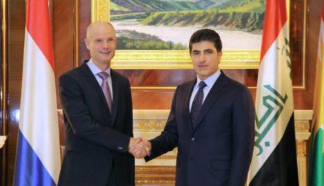 Außenminister von den Niederlanden besucht die KRI
