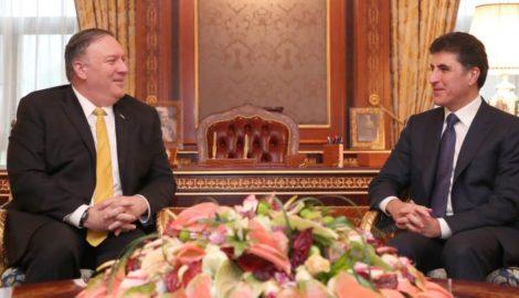 US Außenminister besuchte die Region Kurdistan-Irak