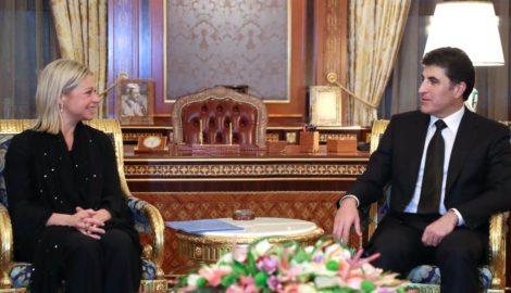 New UN Special Envoy for Iraq meets PM Barzani