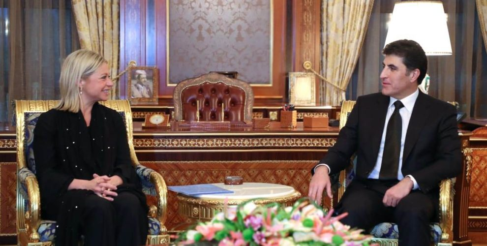 New UN Special Envoy for Iraq meets PM Barzani