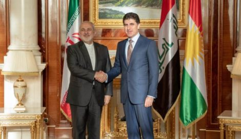 Prime Minister Barzani receives Iranian Foreign Minister