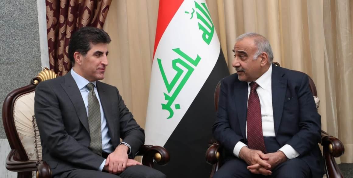 PM Barzani trifft irakischen PM Adil Abdul-Mahdi in Bagdad