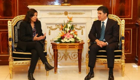 Paris Mayor in the Kurdistan Region