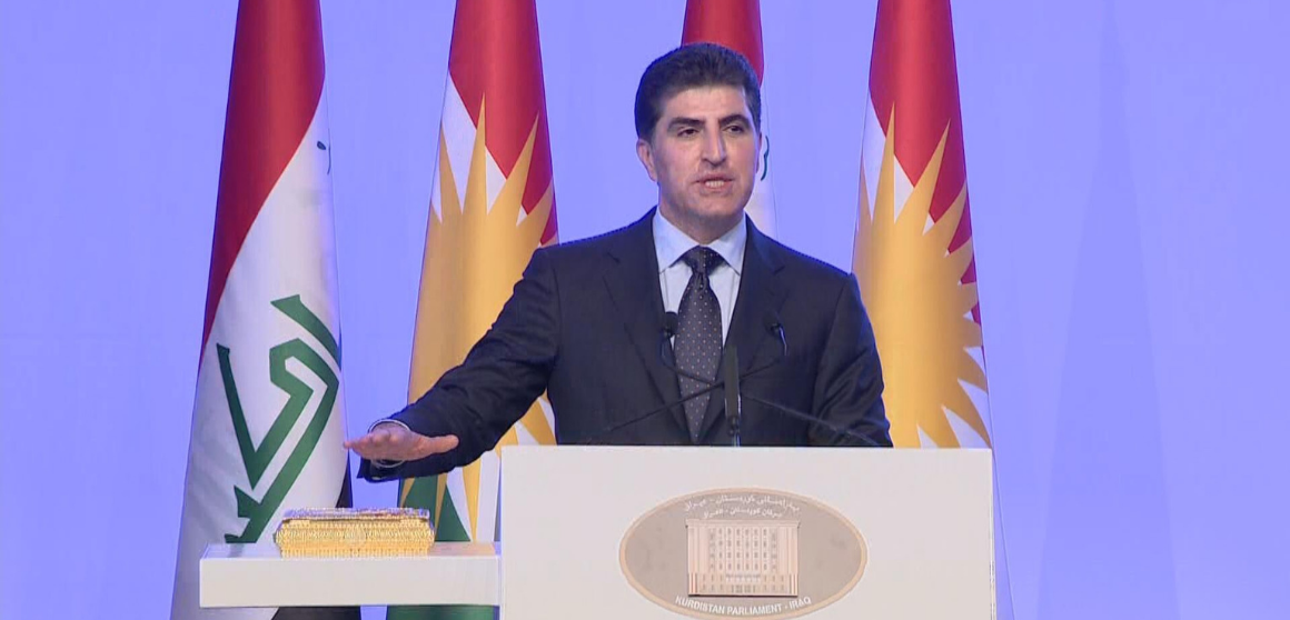 Inauguration of the new President of the Kurdistan Region of Iraq