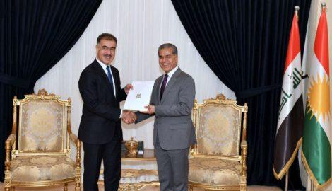 Safeen Dizayee wurde zum Leiter des Departments für Auswärtige Beziehungen ernannt