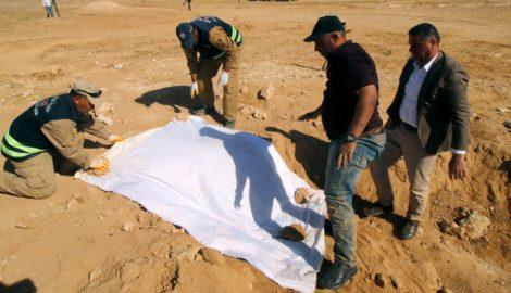 Mass graves of Kurdish civilians discovered