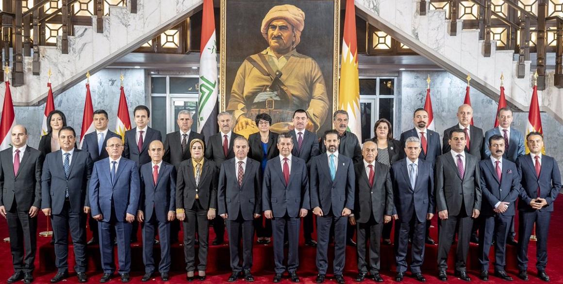 Das 9. Kabinett der Regionalregierung Kurdistan-Irak