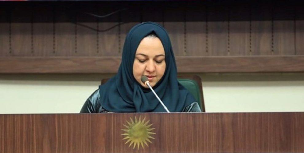 Dr. Rewas Faiq: die neue Parlamentssprecherin