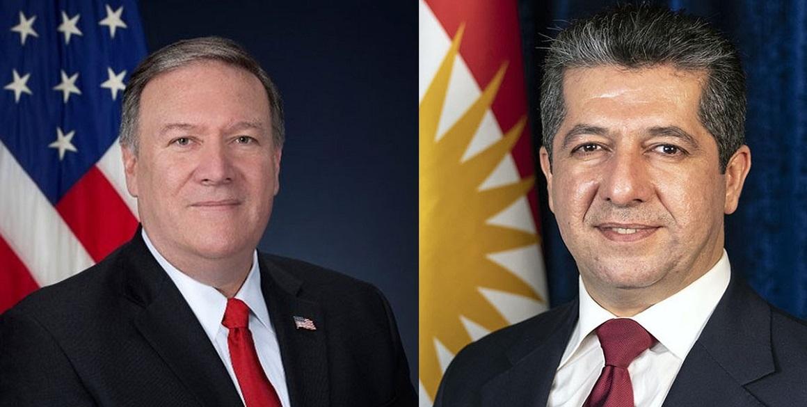 US Secretary of State congratulates Prime Minister Barzani