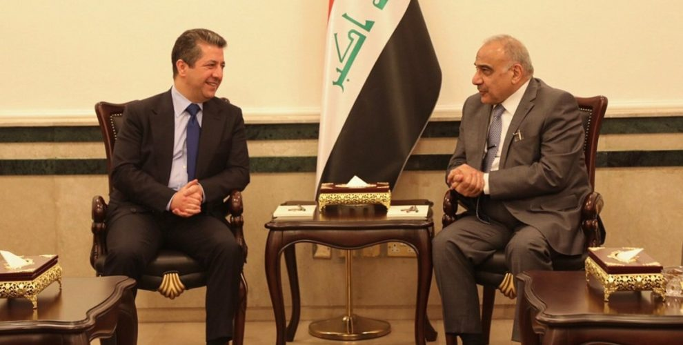 PM Barzani meets Iraq's senior leadership in Baghdad