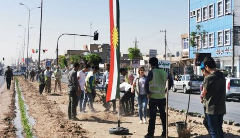 Kurdistan wird grüner