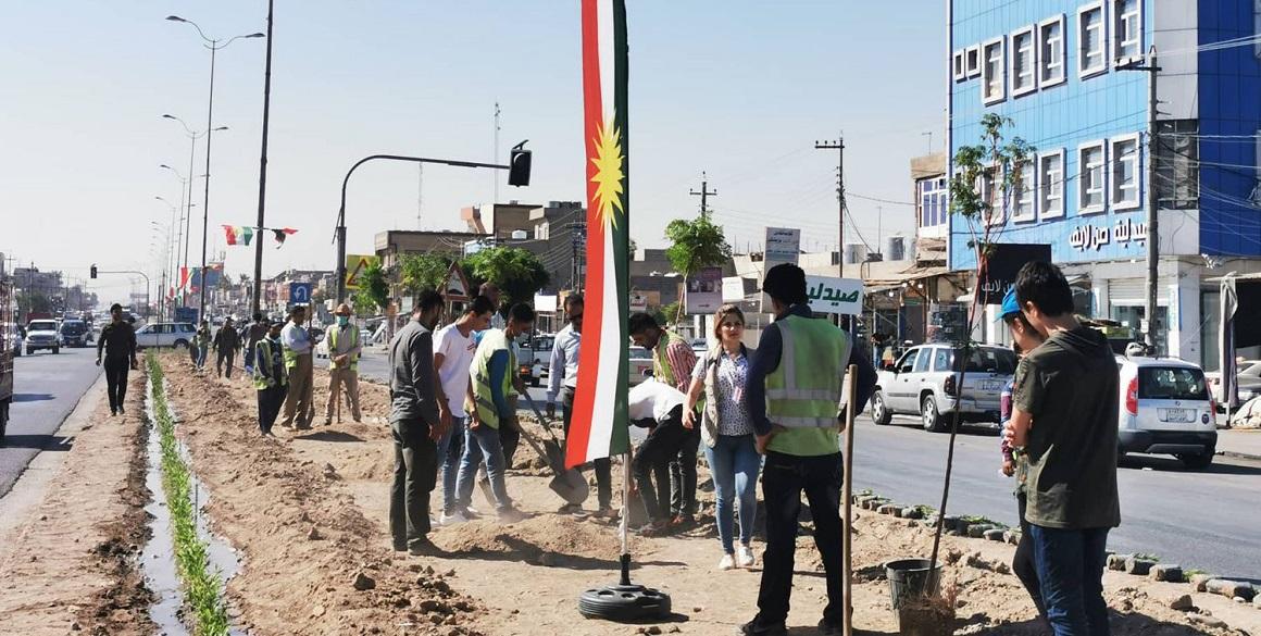 Kurdistan Becomes Greener