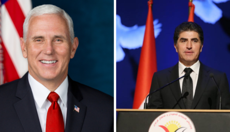 US Vice President's call with President Barzani