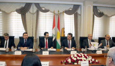 KRG Council of Ministers meets the Kurdistan Region factions of the Iraqi Parliament