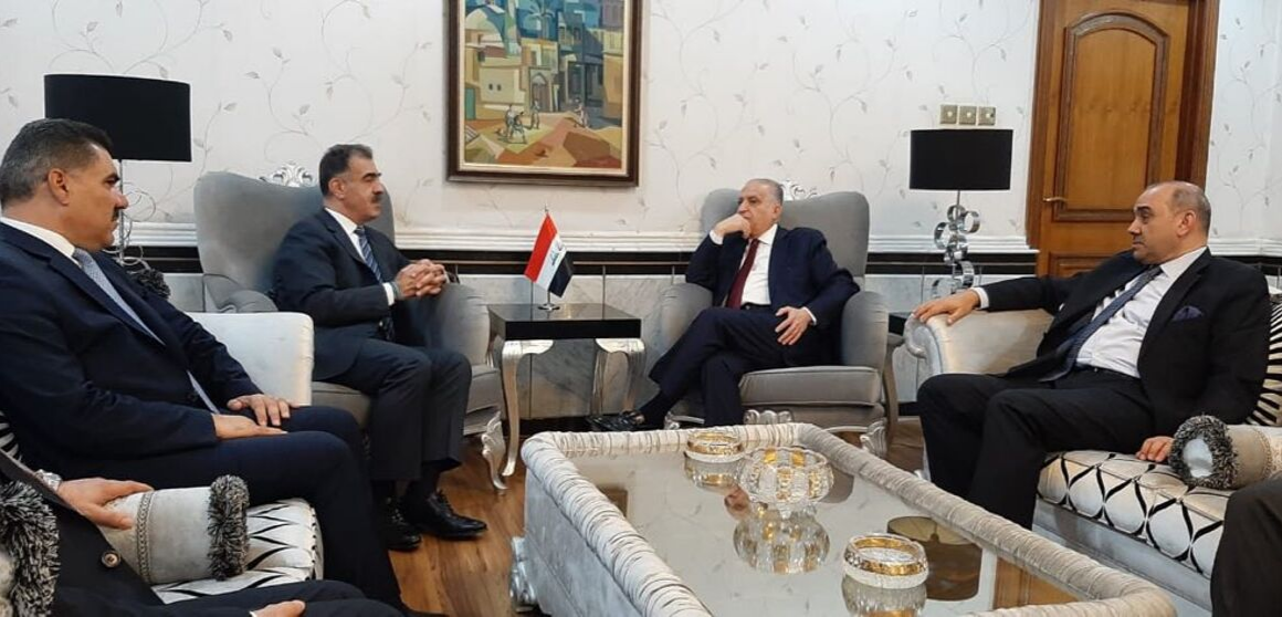 DFR Minister Safeen Dizayee in Baghdad