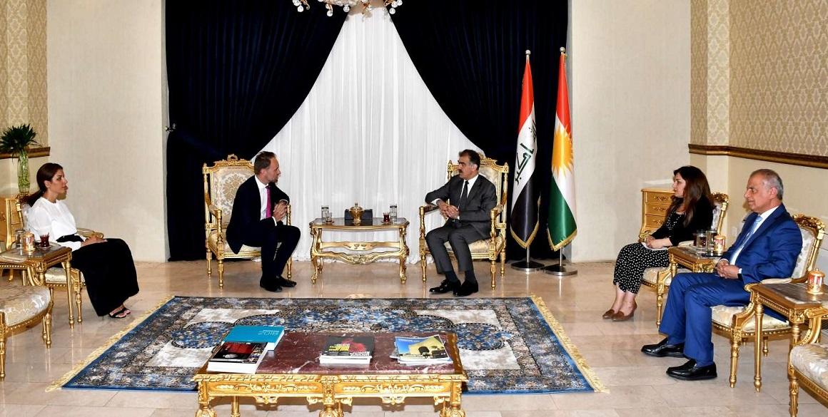 Österreichs Wirtschaftsdelegierter besucht die Region Kurdistan