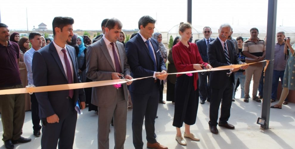 Inauguration of Agricultural Centre in Erbil