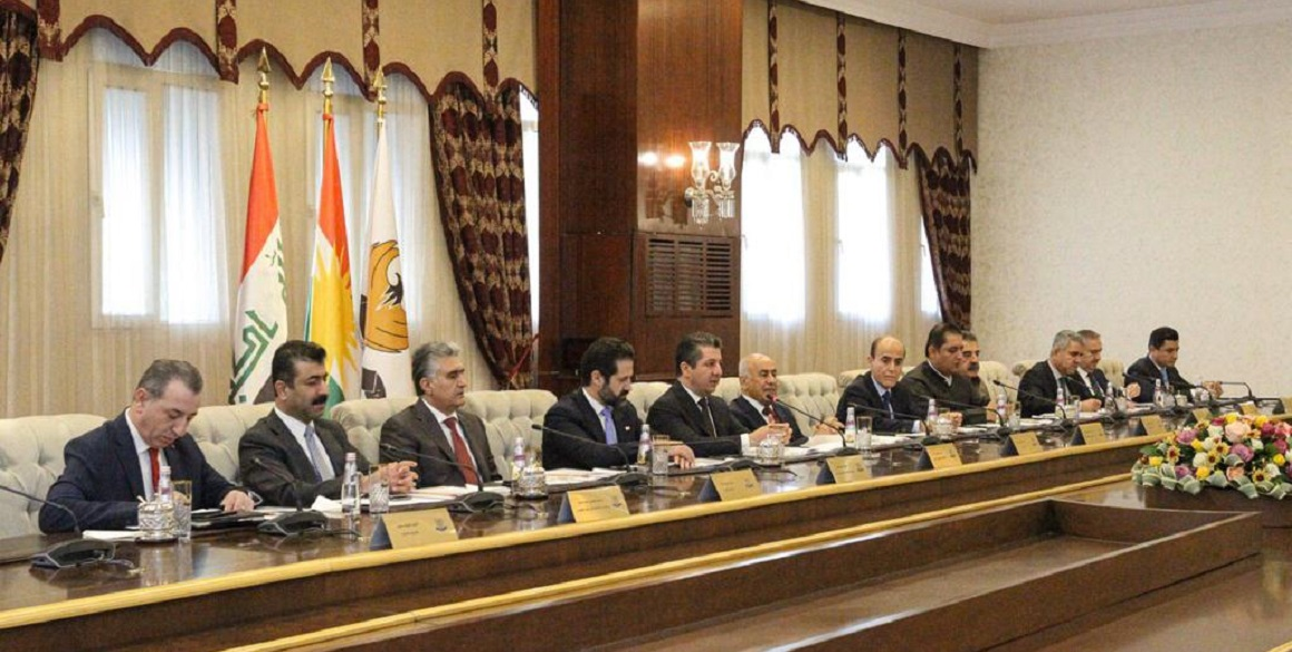 KRG Cabinet discusses Current Situation in Iraq and Syria