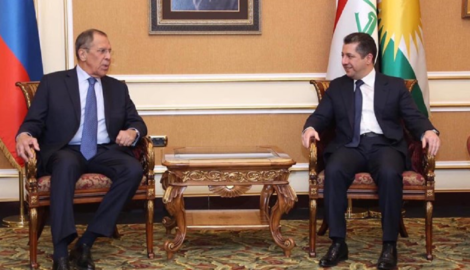 Russian Foreign Minister visits the Kurdistan Region