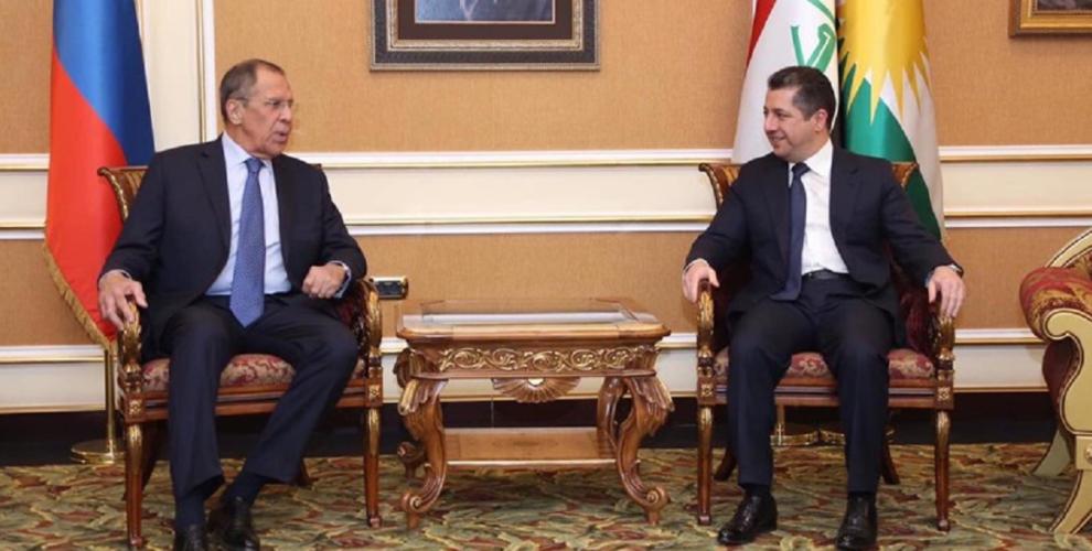 Russian Foreign Minister visits the Kurdistan Region