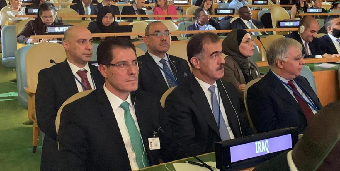 Head of DFR at the UN General Assembly